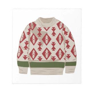 Winter Sweater Notepad