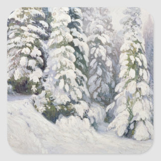 Winter Tale, 1913 Square Sticker
