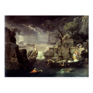 Winter (The Flood) by Nicolas Poussin Postcard