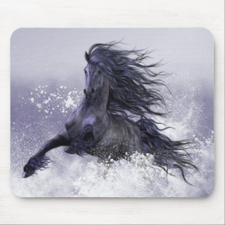 Winter Thunder Mousepad