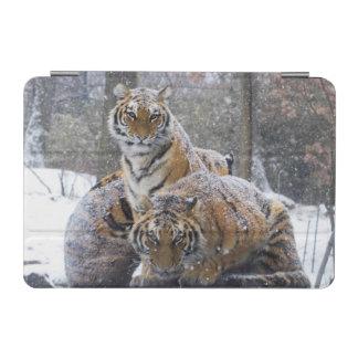 Winter Tigers iPad Mini Cover