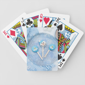 Winter Time Treats and Goodies Bicycle Playing Cards