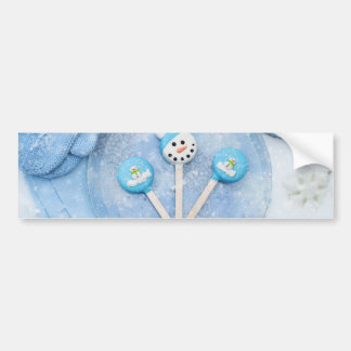 Winter Time Treats and Goodies Bumper Sticker