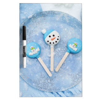 Winter Time Treats and Goodies Dry Erase Board