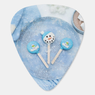 Winter Time Treats and Goodies Guitar Pick