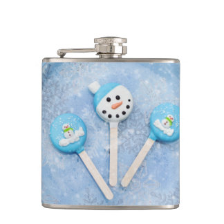 Winter Time Treats and Goodies Hip Flask