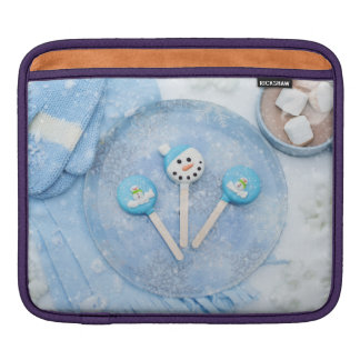 Winter Time Treats and Goodies iPad Sleeve