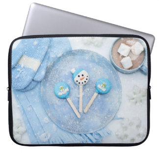 Winter Time Treats and Goodies Laptop Computer Sleeve
