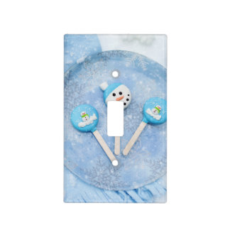 Winter Time Treats and Goodies Light Switch Cover