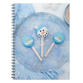 Winter Time Treats and Goodies Notebook