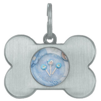 Winter Time Treats and Goodies Pet ID Tag