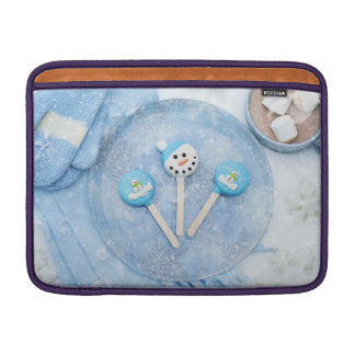 Winter Time Treats and Goodies Sleeve For MacBook Air