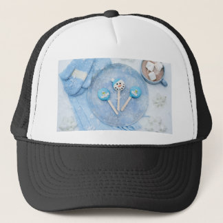Winter Time Treats and Goodies Trucker Hat