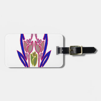 Winter Timings Beautiful Amazing Lovely colors Art Luggage Tag