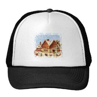 winter town trucker hat
