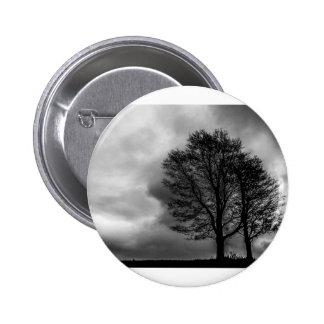 Winter Tree 2 Inch Round Button