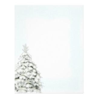 Winter Tree Letterhead