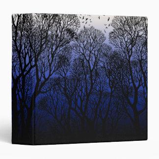 "Winter Trees 1.5"" Binder"