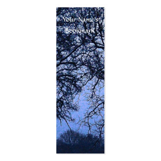 Winter Trees 1 Pack Of Skinny Business Cards