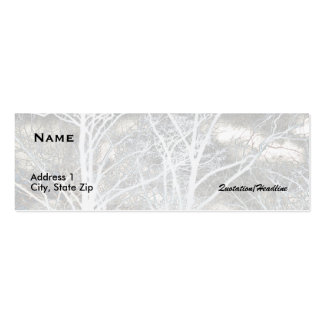 Winter Trees Business Card