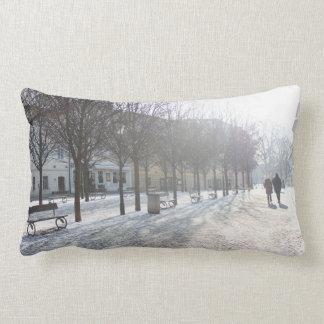Winter Tree's in Prague (czech republic) Lumbar Pillow