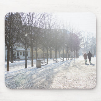 Winter Tree's in Prague (czech republic) Mouse Pad