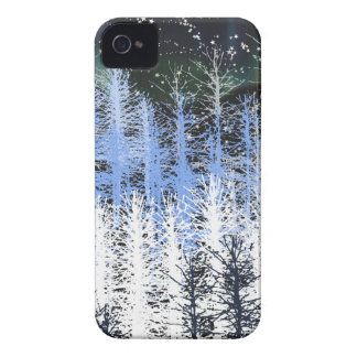 Winter trees iPhone 4 cover