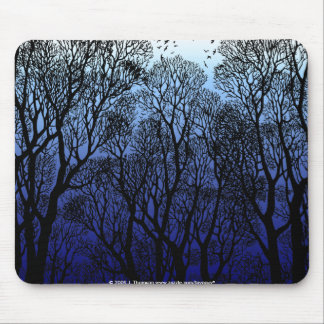 Winter Trees Mouse Pad