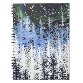 Winter trees notebooks