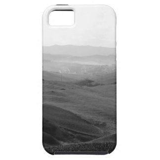 Winter Tuscany landscape with plowed fields Case For The iPhone 5