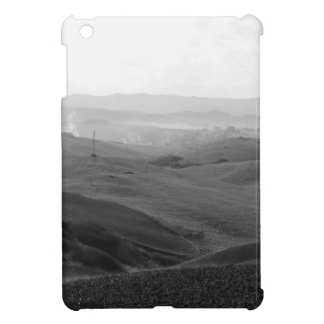 Winter Tuscany landscape with plowed fields iPad Mini Covers