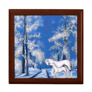 Winter Unicorns Gift Box