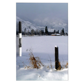 Winter Valley Dry Erase Board