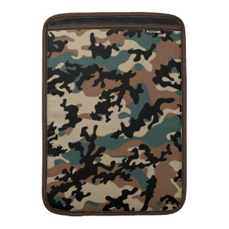 "Winter Verdant Camo MacBook Air 13"" Sleeve"
