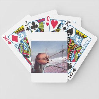 Winter War Bicycle Playing Cards