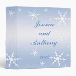 Winter Wedding Album Vinyl Binders