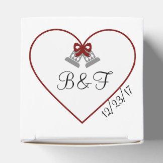 Winter Wedding Favor Box