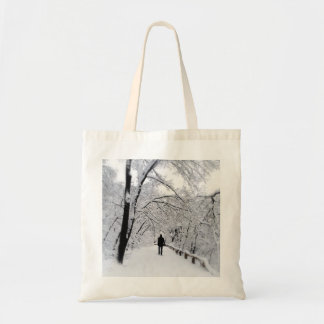 Winter Whiteout Tote Bag