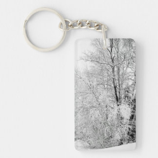 Winter Whites Keychain