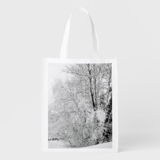 Winter Whites Reusable Grocery Bag