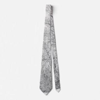 Winter Whites Tie