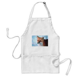 Winter Wildlife Red Fox Standard Apron