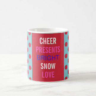 Winter Wishes Celebrate The Holidays Party Mug