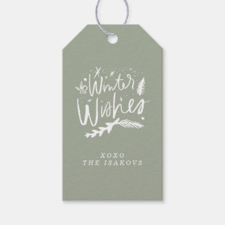 Winter Wishes Gift Tags Pack Of Gift Tags
