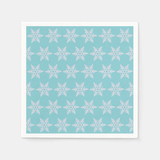 Winter Wishes Holidays Snowflakes Party Napkins Paper Napkin