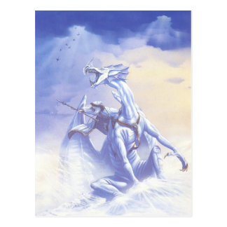 WINTER WIZARD POSTCARD