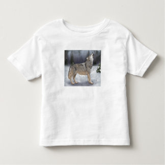 Winter Wolf Toddler T-Shirt
