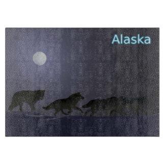 Winter Wolfpack - Alaska Cutting Board