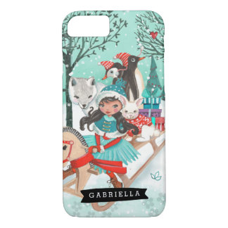 Winter Wonder Woodland Forest | Iphone Case