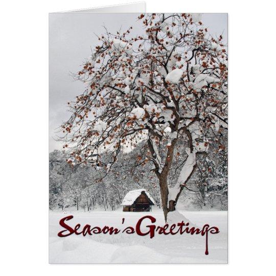 Winter Wonderland 2 (Season's Greetings) Card